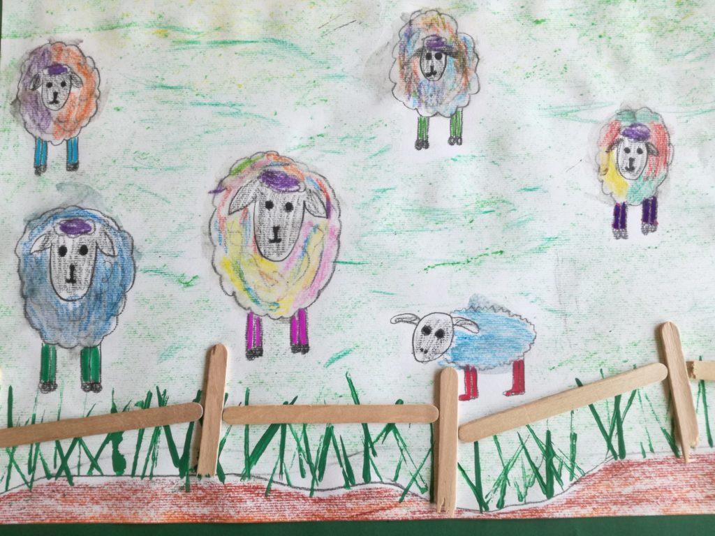 """Ein aktuelles Werk zum Thema: """"Fritz, das Schaf"""" - So ein Schafsleben ist verdammt belämmert!"""